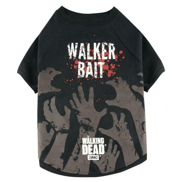 Walking Dead Walker Bait Hunde T-Shirt
