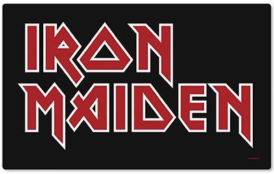Iron Maiden - Frühstücksbrettchen - Logo 1