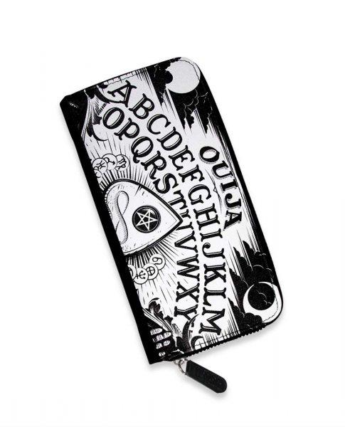 Liquor Brand Ouija Damen Geldbörse Schwarz