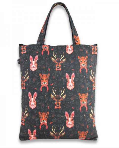 Liquor Brand Animal Forest Damen Shopper Tasche