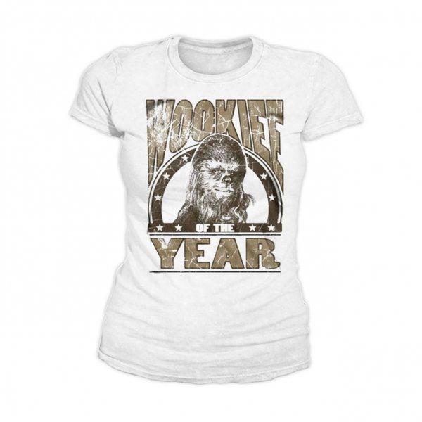 Star Wars Chewbacca Wookie of the Year Damen T-Shirt