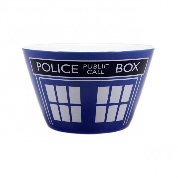 Doctor Who Timelord Police Box Müslischüssel
