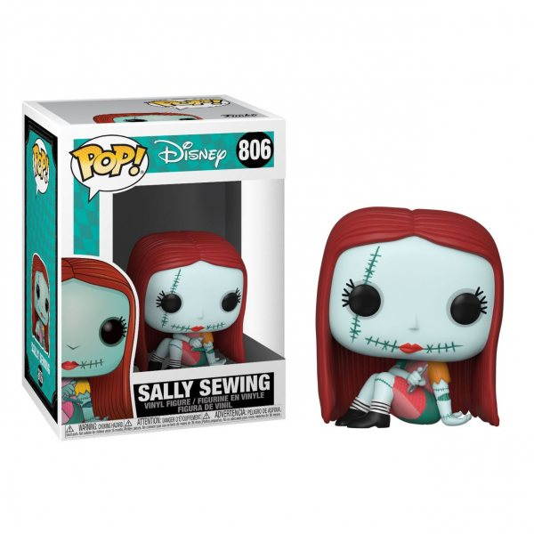 Nightmare before Christmas Sally Sewing Funko Pop Vinyl Figur 806