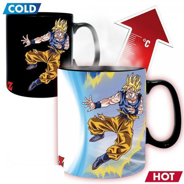 Dragonball Z Son Goku Vs Boo Thermoeffekt XXL Tasse