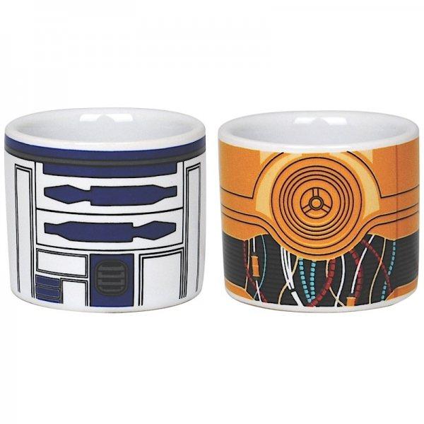 Star Wars - Eierbecher 2er Set - R2D2 und C3PO