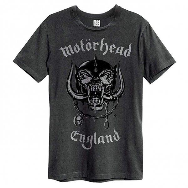 Amplified Motörhead England Logo T-Shirt Herren Grau