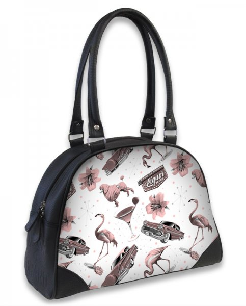 Liquor Brand Flamingo Damen Bowlingtasche