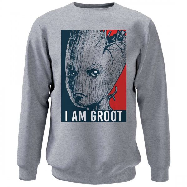 Guardians of the Galaxy 2 I Am Groot Herren Pullover