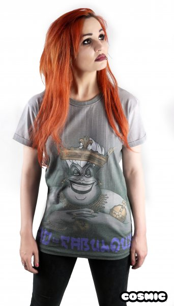 Cosmic Ursula Arielle Bad is Fab Damen T-Shirt