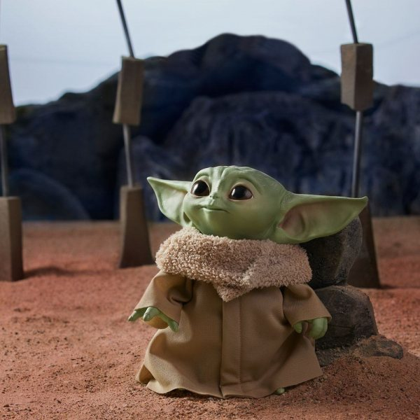 Sta Wars The Mandalorian The Child Baby Yoda Plüschfigur mit Sound