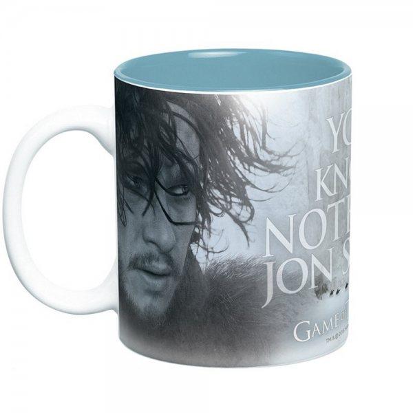 Game of Thrones John Schnee Keramik Tasse