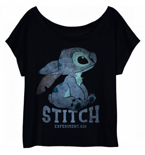 Lilo und Stitch Experiment 626 Damen Oversize T-Shirt