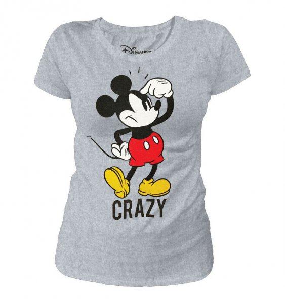 Mickey Mouse Crazy Damen T-Shirt