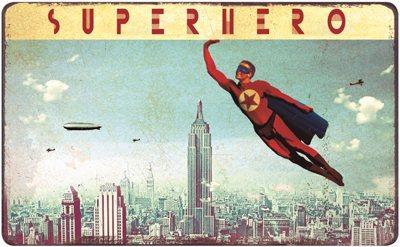 Max Hernn - Frühstücksbrettchen - Superhero