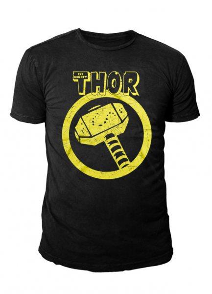 Marvel Comics - Thor Herren T-Shirt - Vintage Logo