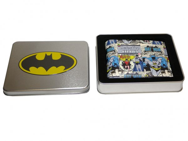 DC Comics - Batman Geldbörse - Bats Comic Blechbox