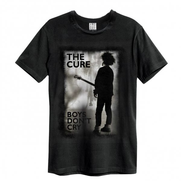 Amplified The Cure Boys dont Cry T-Shirt Vintage Herren