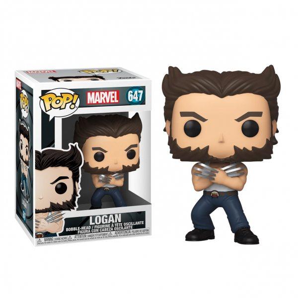 X-Men Wolverine Logan Funko Pop Vinyl Figur 647