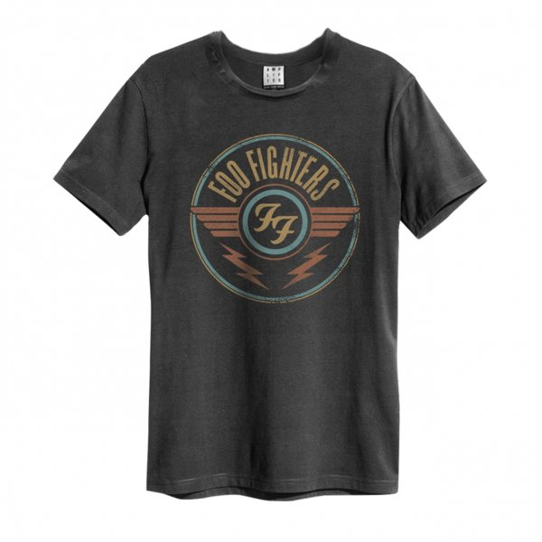 Amplified Foo Fighters Logo T-Shirt Herren Grau