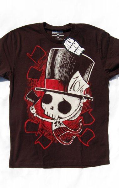 Akumu Ink Mad Hatter Herren T-Shirt