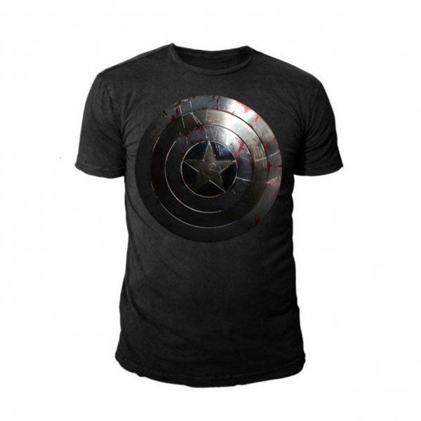 Marvel Captain America Silver Shield Herren T-Shirt Marvel
