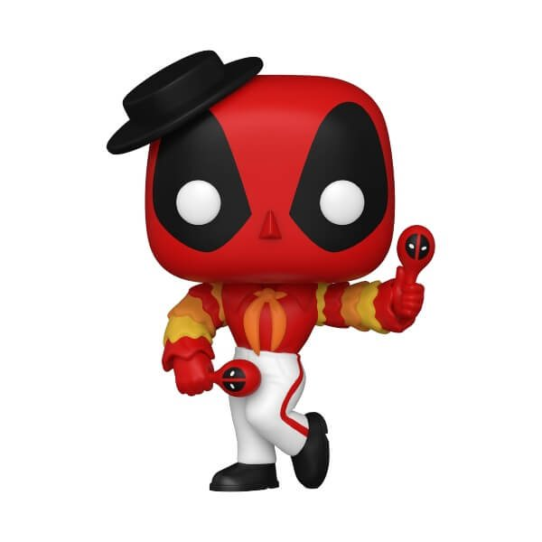 Deadpool Flamenco Funko Pop Vinyl Figur 778