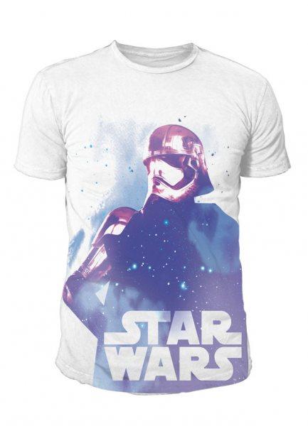 Star Wars - Krieg der Sterne Herren T-Shirt - Captain Phasma