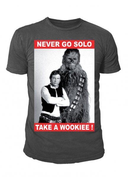 Star Wars - Han Solo Chewie Herren T-Shirt