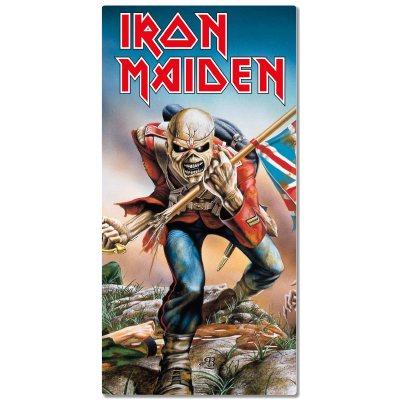 Iron Maiden Eddie Trooper Badetuch