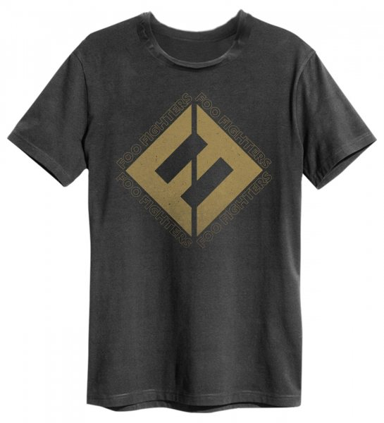 Amplified Foo Fighter Flying Classic Logo Herren T-Shirt