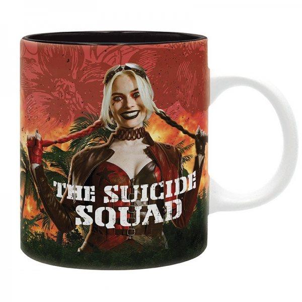 The Suicide Squad Group Shot Harley Quinn Tasse im Geschenkkarton 320 ml