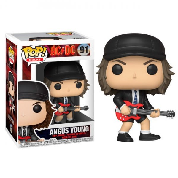 ACDC Angus Young Funko Pop Figur Chase