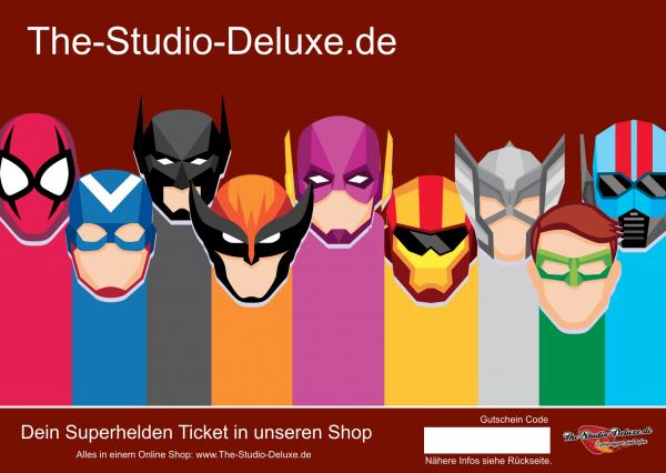 The Studio Deluxe 50 Euro Gutschein Geschenk Karte Fanartikel Merch Fanshop
