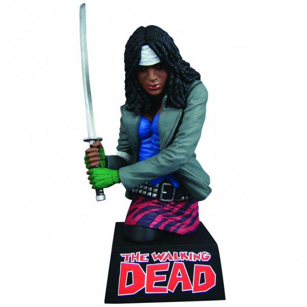 The Walking Dead Michonne Spardose Figur