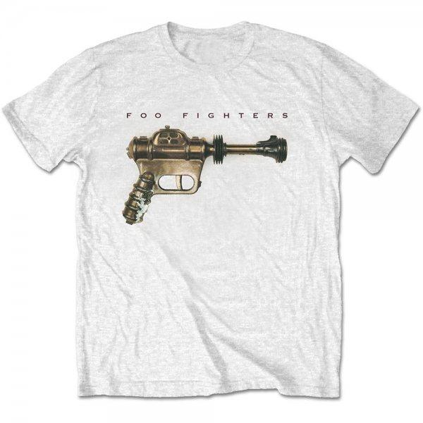 Foo Fighters Classic Logo Herren T-Shirt Weiss
