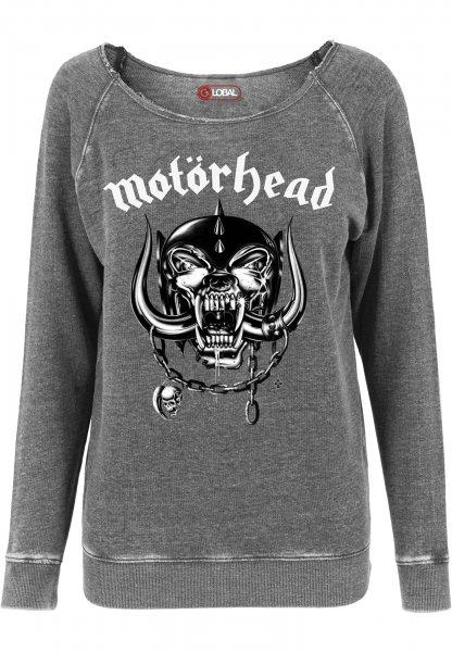 Merchcode Motörhead England Damen Sweater Pullover
