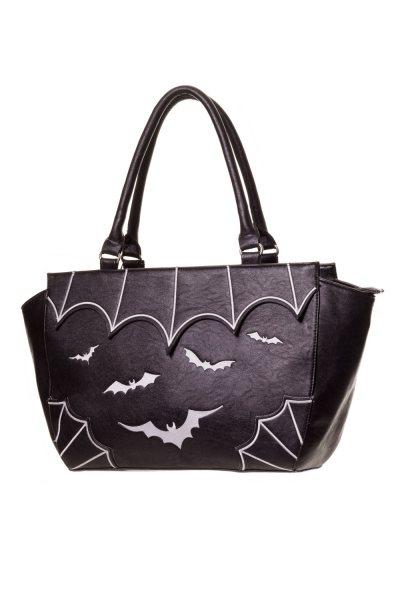 Banned Salem Fledermaus Damen Henkeltasche