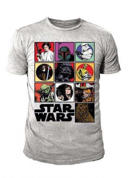 Star Wars - Krieg der Sterne Herren T-Shirt - Comic Icons