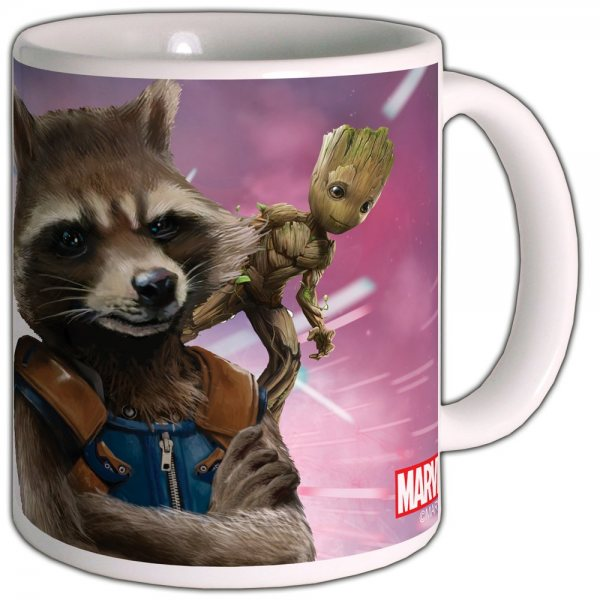 Guardians of the Galaxy Rocket Tasse