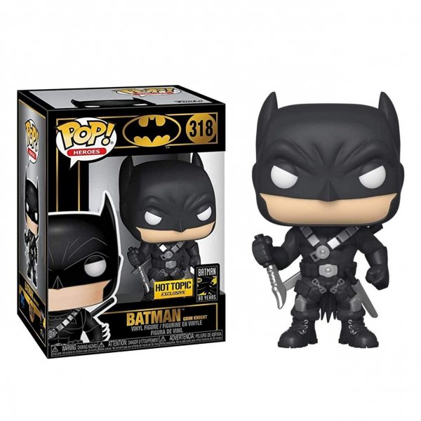 DC Comics Batman Grim Funko Pop Vinyl Figur 318 Special Edition