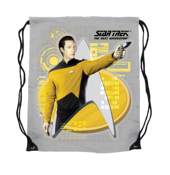 Star Trek - Turnbeutel Shopper - Comannder Data