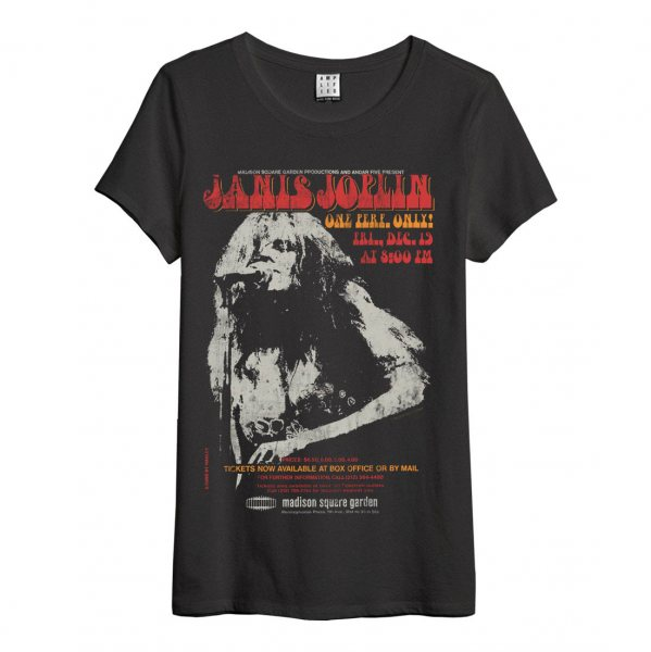 Amplified Janis Joplin Band T-Shirt Damen