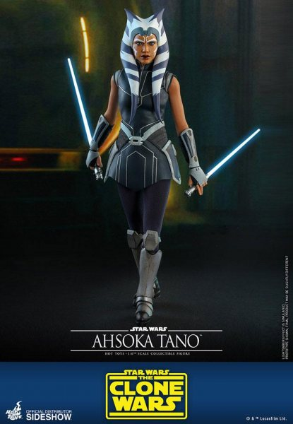 Star Wars The Clone Wars Ahsoka Tano Hot Toys Actionfigur 1/6