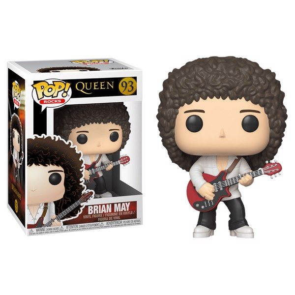 Queen Brian May Funko Pop Vinyl Figur 93