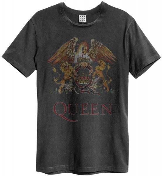Amplified Queen Crest Logo T-Shirt