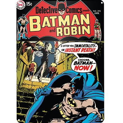 DC Comics - Batman Blechschild - Batcave