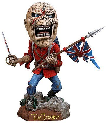 Iron Maiden Eddie Trooper Resin Wackelkopf Figur Statue