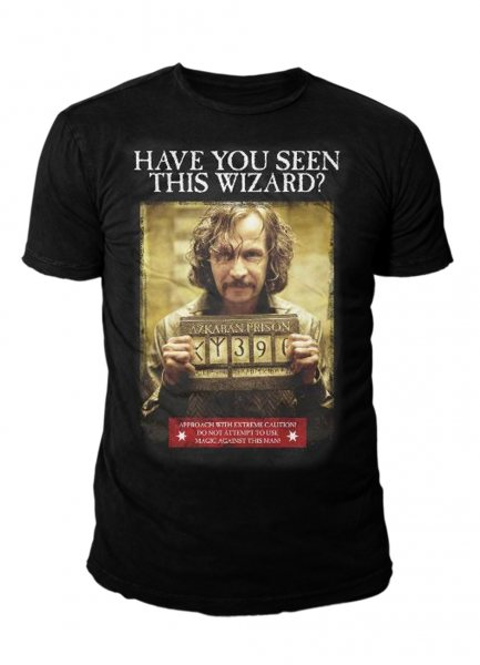 Harry Potter Sirius Black Wanted Ascaban Herren T-Shirt